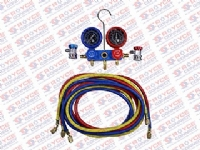 KIT MANOMETROS R134A MANGUEIRA 2500MM COMPLETO - 500560